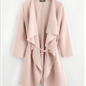 🌺Just in🌺 Elegant apricot draped waterfall wrap.